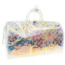 LOUIS VUITTON PRISM KEEPALL 50 TRAVEL BAG BA4198 VIRGIL ABLOH M53271 JT09522