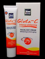 Gluta C Intense Whitening Facial Day Cream, Facial Serum Night Repair with Gluta
