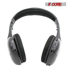 New 5 in 1 Featured Wireless RF Headphone Headset for TV PC Laptop FM Radio