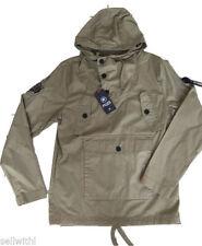 Men's Hooded Other Waist Length Button Coats & Jackets