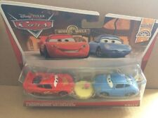 DISNEY CARS DIECAST - Hudson Hornet Piston Cup Lightning McQueen & Sally