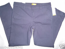 JOE FRESH women's navy ankle pants SIZE 0 new nwy