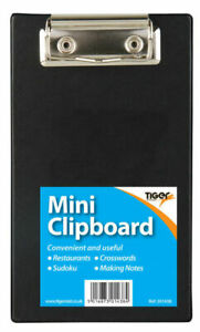 5 x Mini Clipboards -Ideal for Orders Restaurants/Bars/Pubs etc. (Small A6 Size)