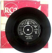 "EX/EX Elvis Presley THERE'S ALWAYS ME b/w JUDY (RCA 1628) 7"" VINYL 45"