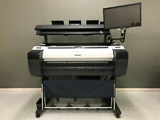 Canon Imageprograf Ipf785 36 Inch Color Large Format Printer Scanner 1 Roll Feed