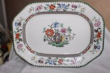 Copeland Spode Chinois Rose Serving Dish 31.4 cm Rd no 629599