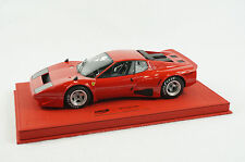 1/18 BBR FERRARI 365 GT4 BB ROSSO CORSA RED DELUXE RED LEATHER LIMITED 5 PCS MR