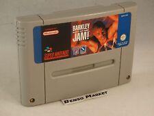 BARKLEY SHUT UP AND JAM - NINTENDO SNES SUPER NES 16 BIT CARTUCCIA PAL ORIGINALE