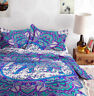 Indian Hippie Mandala Double Bed Quilt Duvet Doona Cover Blanket Boho Queen Size