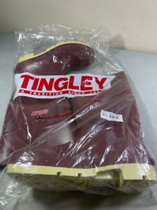 TINGLEY MEN'S MAROON PREMIER 93145 RUBBER BOOTS SIZE 10 NEW