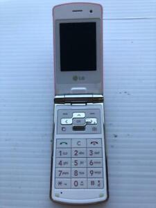 LG KF350 Pink Flip Phone - ASIS - Fast Shipping!