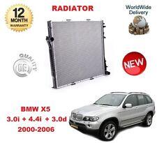 FOR BMW X5 E53 3.0 i 4.4 i 3.0 d 2000-2006 NEW RADIATOR UNIT