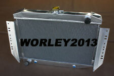 3 core aluminum radiator for JEEP CHEROKEE / WAGONEER J10 J20 5.9 V8 1972-1988