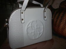 Guess White Little Handbag