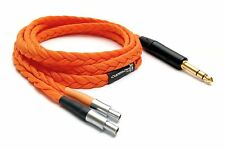 Ultra-low capacitance cable for Sennheiser HD800 (TRS output - 3.5mm/6.3mm jack)