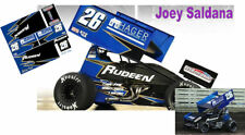CD_DSC_049 #26 Joey Saldana   2017 Sudeen sprint car   1:25 Scale Decals   ~NEW~