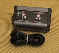 099-4057-000 Fender Guitar 2-Button Footswitch: Channel/Chorus On/Off Princeton