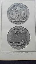 1888/89 5 MONETE NUMISMATICA Imperatore Wilhelm Romfahrt moneta commemorativa