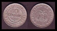 ★★ BOLIVIE ● 10 CENTAVOS 1987 ● E14 ★★