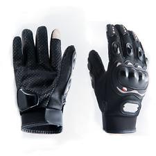 Motorradhandschuhe Größe M schwarz kurz Touchscreen für Herren und Damen