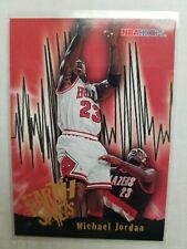 Michael Jordan Earth Shakers NBA Hoops SP Rare 95-96 Bulls