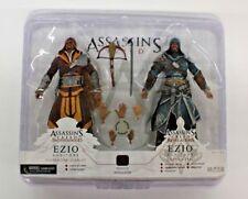 NECA Assassin's Creed Ezio Figure 2-Pack (Florentine Scarlet & Caspian Teal)