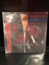"Miquel Brown: Black Leather ;Import 12"" Single-2 Tracks- Break Records-VG Cond"