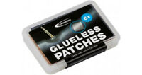 Bike Puncture Repair Kit Schwalbe Glueless Patches Pack Of 6 Clear