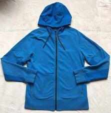 Lululemon Womens Jacket, Size Large, Blue, Zip-Up Hoodie Sweatshirt, Long Sleeve