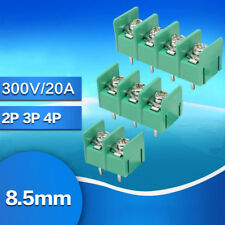 Pitch 8.5mm Terminal Block Screw KF8500-2P/3P/4P 300V / 20A PCB Mount Connector