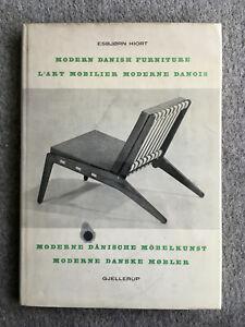 MODERN DANISH FURNITURE ESBJORN HIORT 1956 Duel Text