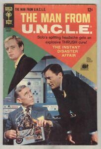 Man From U.N.C.L.E. #16 January 1968 VG