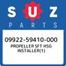 09922-59410-000 Suzuki Propeller sft hsg installer(1) 0992259410000, New Genuine