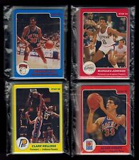 1984-85 Star CLIPPERS, KNICKS, SUNS, PACERS (4 COMPLETE TEAM SETS) !!!!