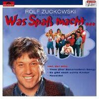 "ROLF ZUCKOWSKI ""WAS SPASS MACHT..."" CD NEU"
