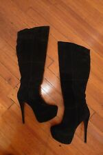 Steve Madden Suede Over The Knee Boots. Size 9
