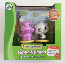 Learning Friends - Hippo & Panda - Figure Set With Board Book