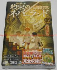 Yakusoku no The Promised Neverland Vol.13 Limited Edition Manga + Artbook Japan