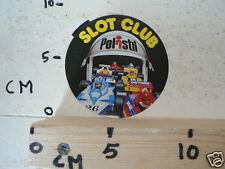 STICKER,DECAL POLISTIL SLOT CLUB RACING FORMULA ONE F1