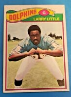 1977 Topps #172 Larry Little HOF  NM or Better Miami Dolphins Guard
