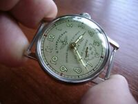 New.POBEDA Yuri Gagarin Military Wrist Watch Russian USSR