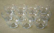 11 ANCHOR HOCKING LAUREL DESSERT GLASS BOWLS (OTR AVAIL)CUT FRUIT  ICE CREAM CUP