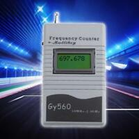 GY560 Digital Frequency Counter Meter 2-Way Radio Transceiver GSM 50 MHz-2.4 GHz