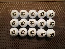 LOGO GOLF BALLS-(15) NHL....CALGARY FLAMES...............NEW!!!