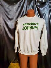 Vtg The Shining horror movie Jack Nicholson 90s Here's Johnny sweatshirt shirt