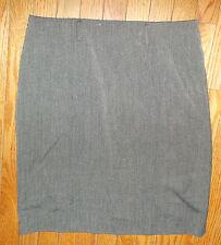 "Linea Donna Gray Polyester Blend Below Knee Size 10 Skirt 34""x23"" box 429"
