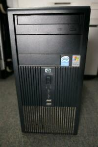 HP Compaq DX2200 MicroTower 80GB HDD Formatted 32Bit 896MB w Ram Recovery Discs