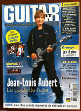 b)Guitar Part n°116; Jean Louis Aubert/ Riffs Muse, Iggy Pop, Travis, ZZ Top