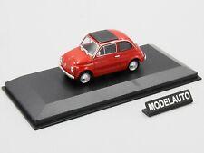 Minichamps 1:43 FIAT 500 L  1965  RED - MAXICHAMPS