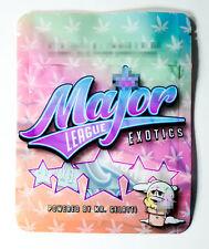 NEW MAJOR LEAGUE EXOTICS RUNTZ RESEALABLE ZIP LOCK MYLAR 3.5G-7G BAGS